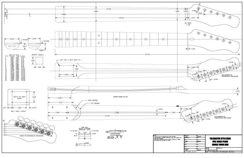 Telecaster headstock diagram vintage strat